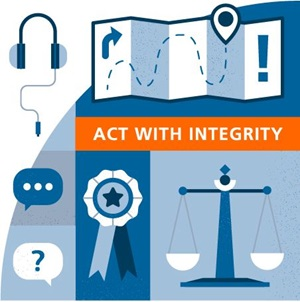 Act with Integrity value